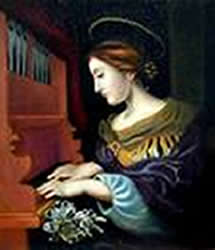 Caecilia at the Organ